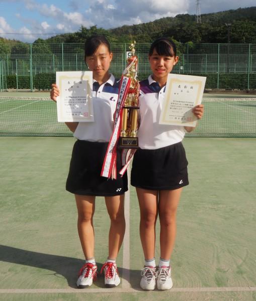 画像(ソフトテニス女子個人)