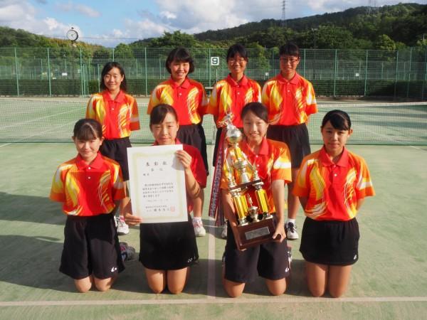 画像(ソフトテニス女子団体)
