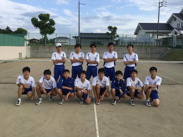 ソフトテニス東伯中