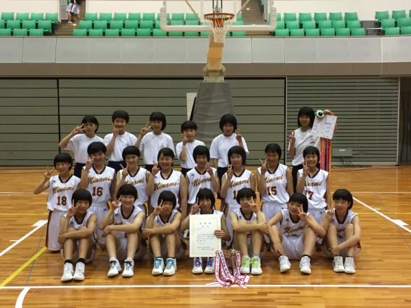 バスケットボール画像鳥取南:女子