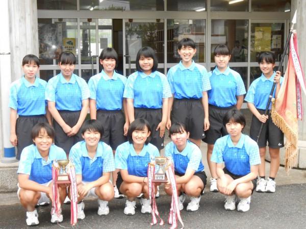 ソフトテニス(三朝中女子)