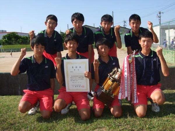 ソフトテニス 男子団体