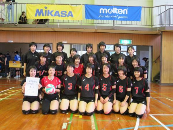 天皇杯皇后杯 鳥取県ラウンド優勝写真