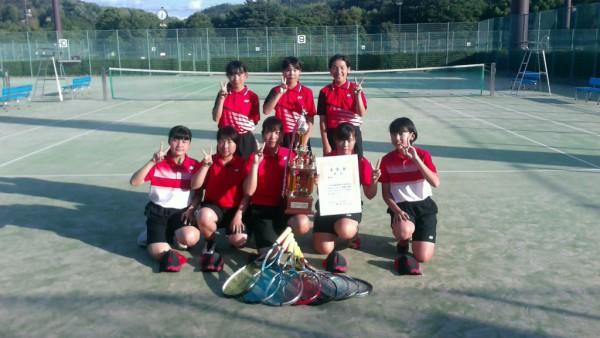 ソフトテニス 女子団体