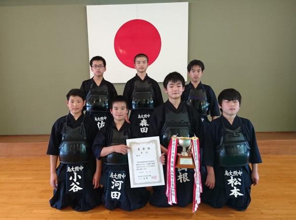 08 剣道男子団体優勝校(附属)