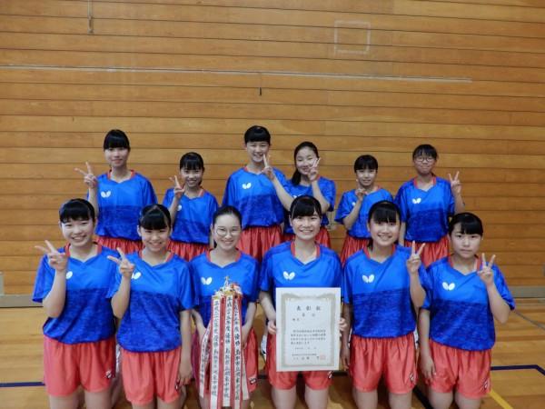 07 卓球女子団体(湖東)