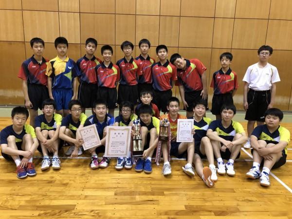 07 卓球男子団体(八頭)