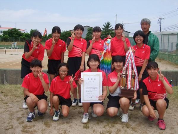 06 ソフトテニス女子団体(福部未来)