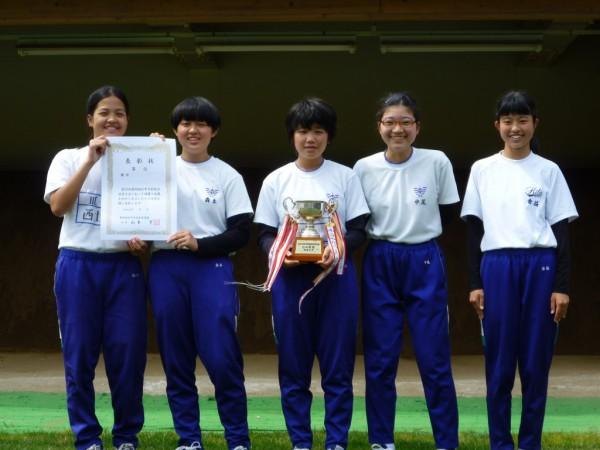 10 弓道女子(北中)