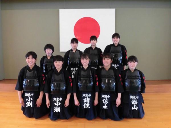 08 剣道女子団体優勝校(湖東)